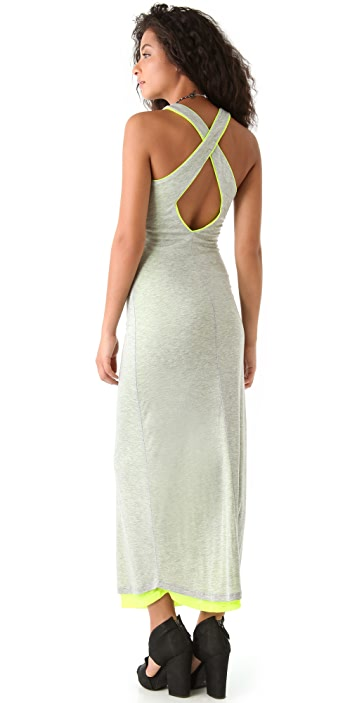 MONROW Crossover Neon Lined Maxi