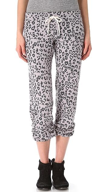 43eda119a0fe MONROW Leopard Vintage Sweatpants | SHOPBOP