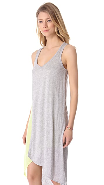 MONROW Asymmetrical Tank Dress