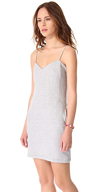 MONROW Novelty Basics Sweetheart Dress