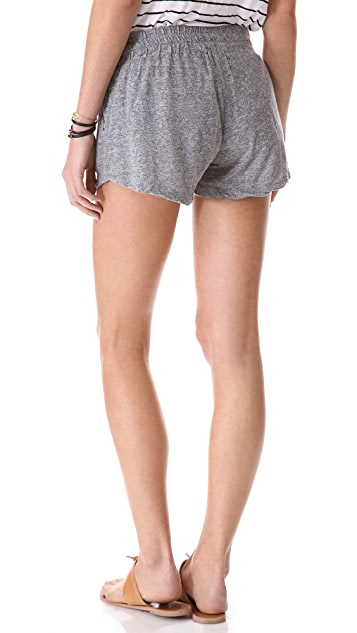 MONROW Granite Novelty Pocket Shorts