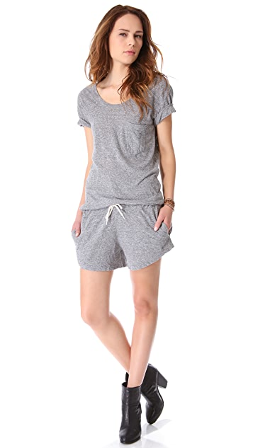 MONROW Granite Novelty T-Shirt Romper