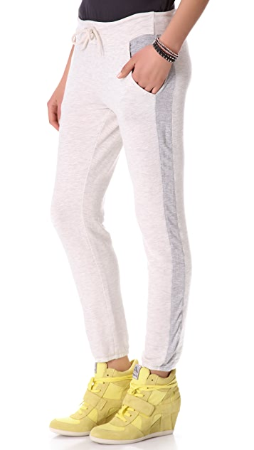 MONROW Super Soft Contrast Track Pants