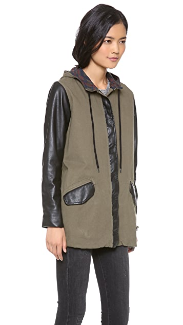 MONROW Military Trench Coat