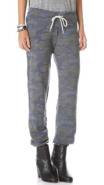 MONROW Camo Vintage Sweatpants