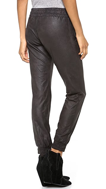 MONROW Faux Leather Pants