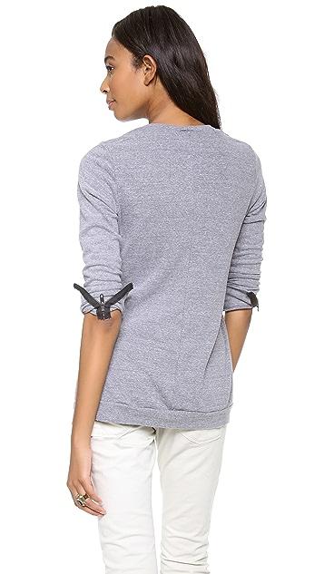 MONROW Moto Fleece Sweatshirt