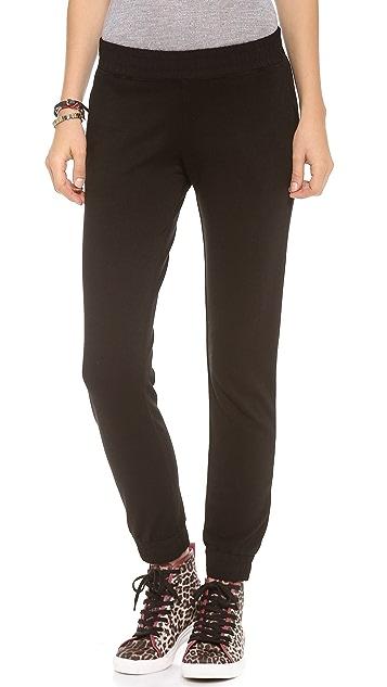 MONROW Ponte Skinny Sweatpants