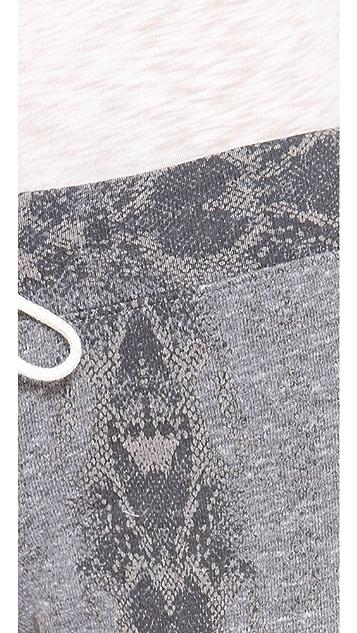 MONROW Snakeskin Vintage Sweatpants