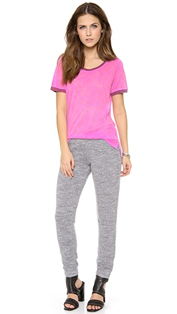 MONROW Sweater Knit Slim Sweatpants