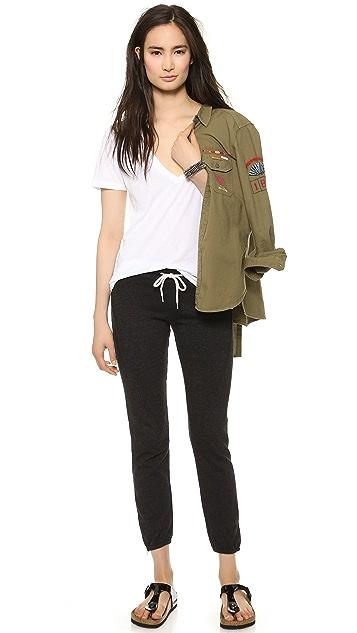 MONROW Basic Seamed Sweatpants