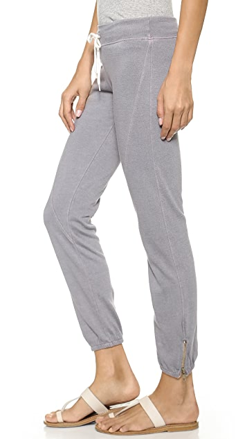 MONROW Basic Seamed Sweatpants