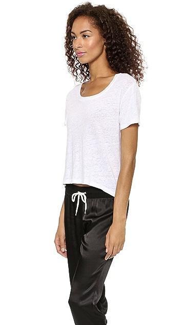 MONROW Cropped Fashion Tee