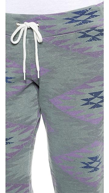 MONROW Vintage Drawstring Sweatpants