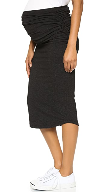 MONROW Maternity Skirt