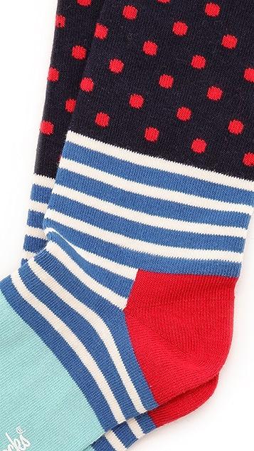 HS Stripes & Dots Socks