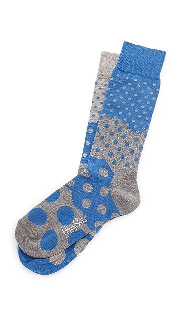 HS Half Dot Socks
