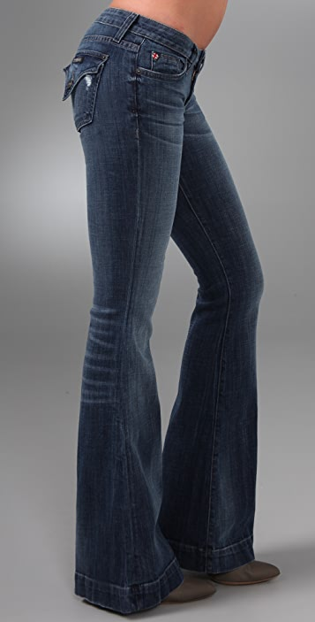 Hudson Woodstock Flap Pocket Flare Jeans
