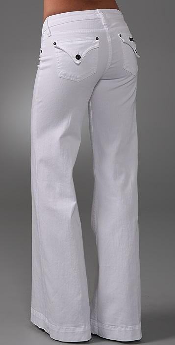 Hudson Wide Leg Jeans