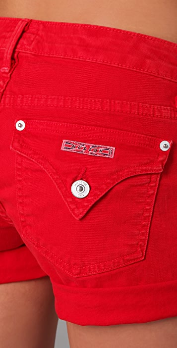 Hudson Hampton Denim Short Shorts