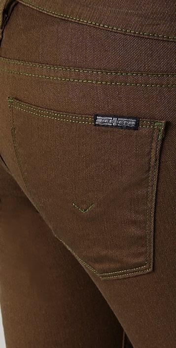 Hudson Nico Crop Tuxedo Jeans