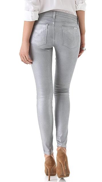 Hudson Krista Metallic Super Skinny Jeans