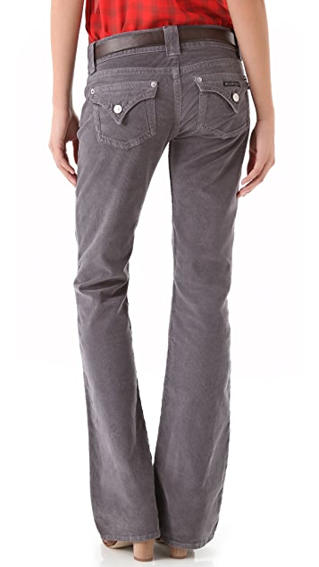Hudson Signature Boot Cut Corduroy Pants