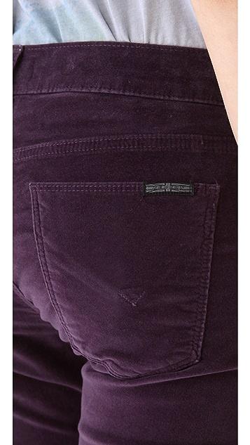 Hudson Krista Super Skinny Velvet Pants