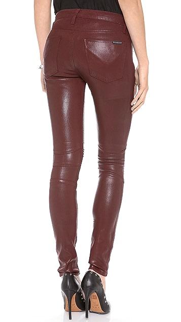 Hudson Moto Super Skinny Jeans