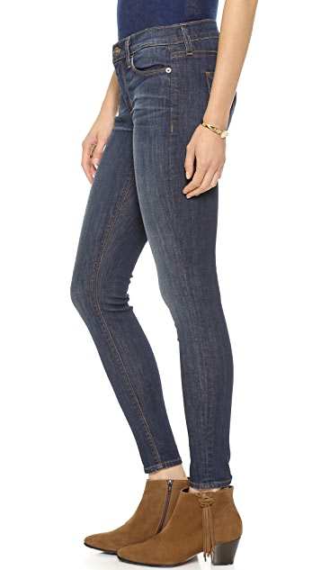 Hudson Nico Mid-Rise Super Skinny Jeans