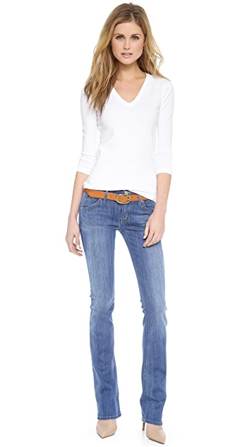 Hudson Beth Midrise Baby Bootcut Jeans