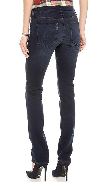 Hudson Tilda Midrise Straight Jeans