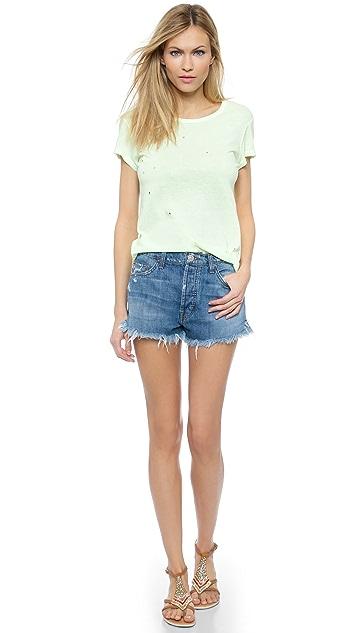Hudson Tori Slouch Shorts