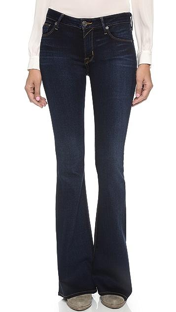 flared trousers - Blue Hudson aRg3YBe57