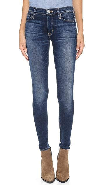 Hudson Nico Elysian Mid Rise Skinny Jeans