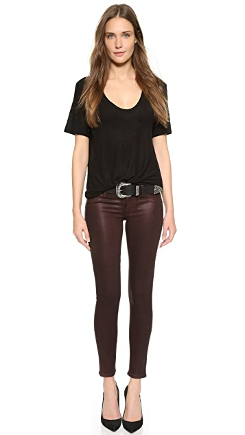 Hudson Krista Super Skinny Ankle Jeans