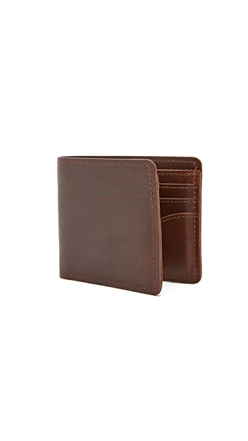 J.W. Hulme Co. American Heritage Leather Bi-Fold Wallet