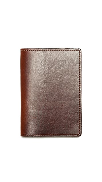 J.W. Hulme Co. American Heritage Leather Passport Wallet