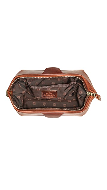 J.W. Hulme Co. American Heritage Leather Travel Kit