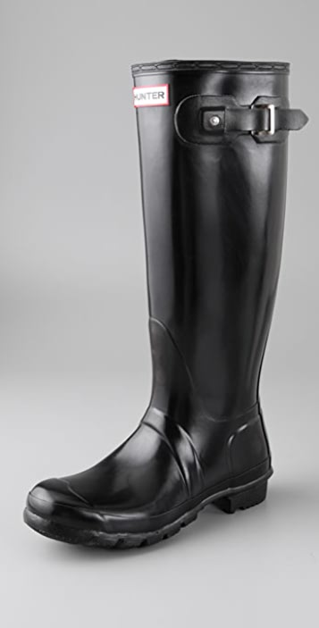 Hunter Boots Hunter Original Tall Gloss Rain Boots