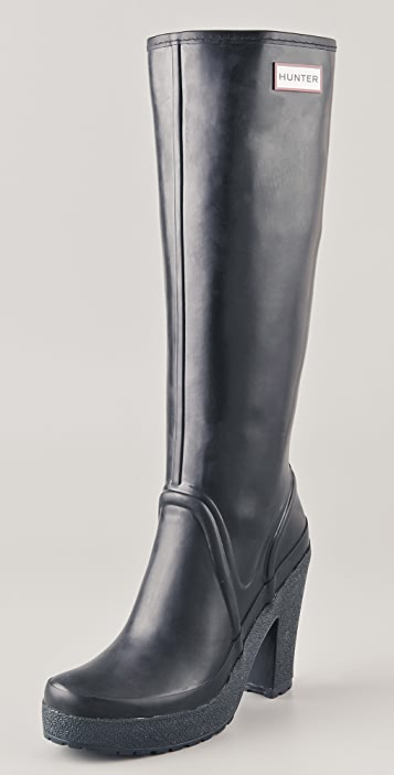 Hunter Lonny (high heeled rubber boots!! Can't you just