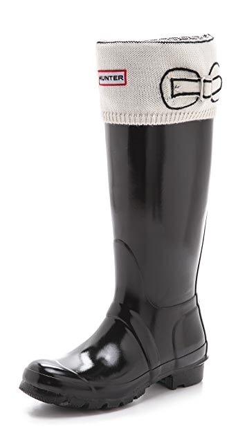 Hunter Boots Cuff Welly Socks