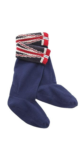 Hunter Boots Original Brit Cuff Welly Socks