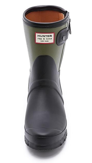 Hunter Boots Rag & Bone X Hunter Short Boots