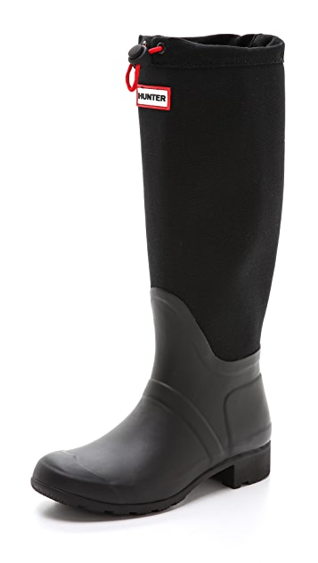 Hunter Boots Original Tour Canvas Tall Boots