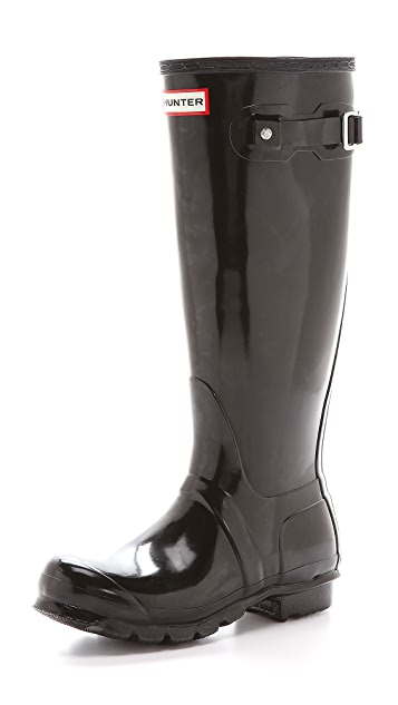 Hunter Boots Original Tall Gloss Boots