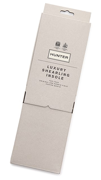 Hunter Boots Luxury Shearling Insoles