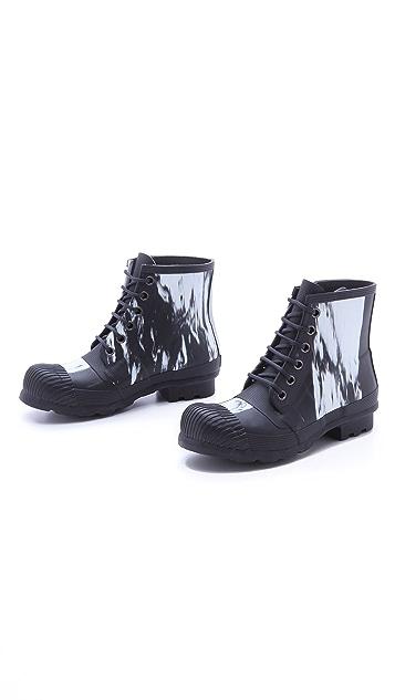 Hunter Boots Original Nightfall Lace Up Boots