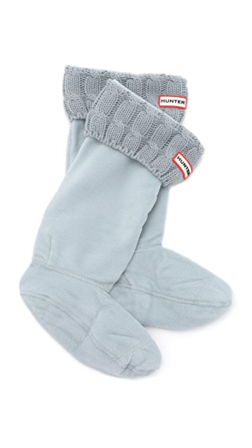 Hunter Boots 6 Stitch Cable Boot Socks