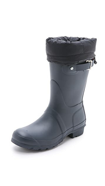 Hunter Boots Down Filled Short Boot Socks